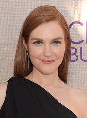 Darby Stanchfield left her hair loose with a side part when she attended the Chrysalis Butterfly Ball.