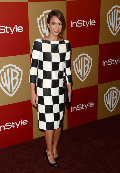 More Pics of Jessica Alba Evening Pumps (5 of 7) - Jessica Alba Lookbook - StyleBistro