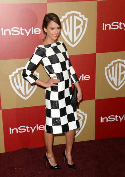 More Pics of Jessica Alba Evening Pumps (4 of 7) - Evening Pumps Lookbook - StyleBistro