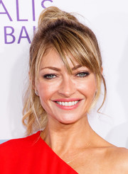 Rebecca Gayheart looked fab with her messy ponytail at the Chrysalis Butterfly Ball.