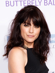Selma Blair pulled off this messy wavy 'do at the Chrysalis Butterfly Ball.