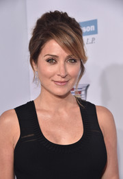 Sasha Alexander rocked an elegant beehive at the Chrysalis Butterfly Ball.