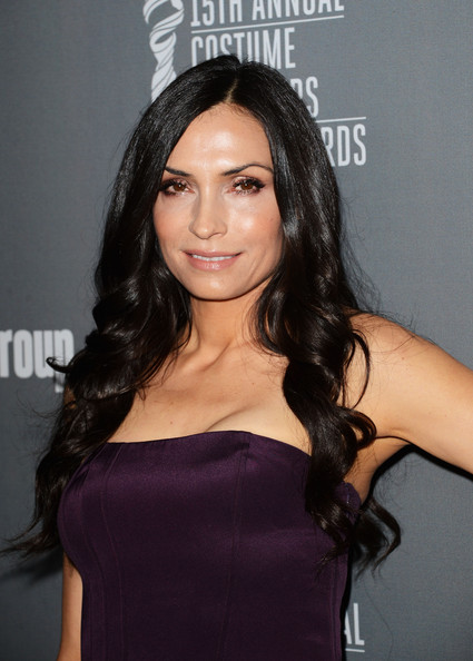 More Pics of Famke Janssen Long Curls (1 of 17) - Long Curls Lookbook - StyleBistro