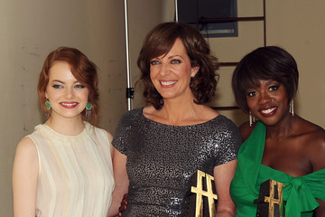 Emma Stone Viola Davis 15th Annual Hollywood Film Awards Gala Presented By Starz - Backstage