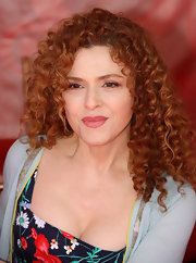 Bernadette made a splash at the LA Times Festival where she showed off her killer curls.