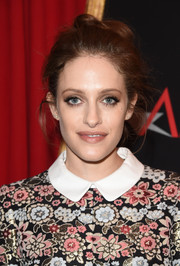 Carly Chaikin sported a messy updo at the AFI Awards.