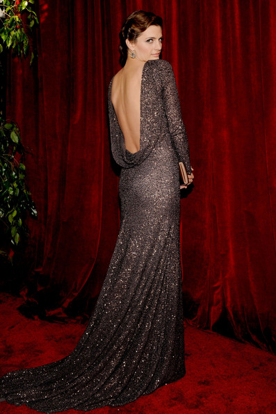 Stana Katic at the 2010 SAG Awards