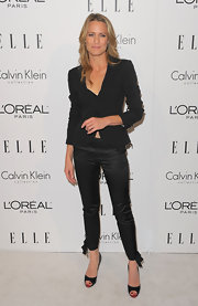 Robin wears black 'Very Prive Patent Pumps'