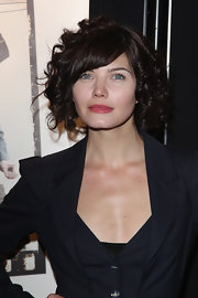 Delphine Chaneac looked pretty with her bouncy curls at the 16th Ceremonie Des Lumieres.