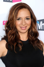 Maya Rudolph wore her rich auburn tresses in long curls at the 17th Annual Critics' Choice Movie Awards.