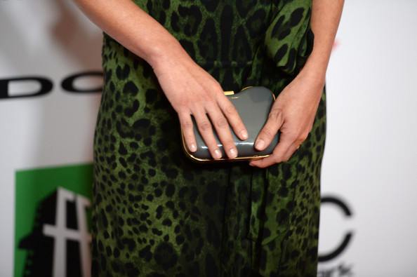 More Pics of Olivia Munn Hard Case Clutch (1 of 14) - Hard Case Clutch Lookbook - StyleBistro