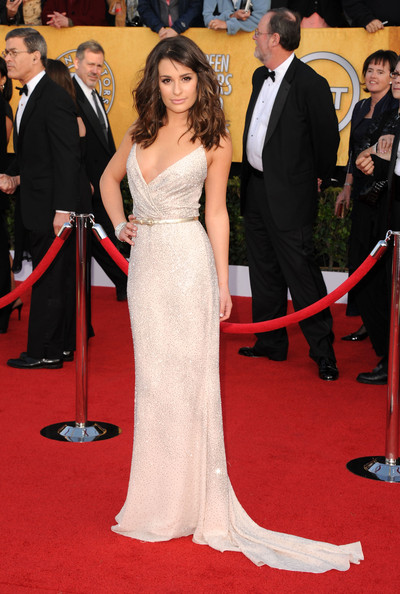 Lea Michele at the 2011 SAG Awards