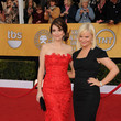 Smiling for the Cameras at the 17th Annual SAG Awards
