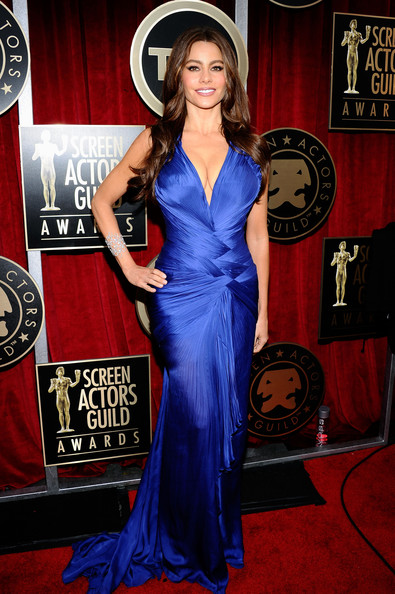 Sofia Vergara at the 2011 SAG Awards