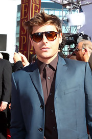 Zac Efron showed off his perfectly messy haircut while attending the ESPY Awards.