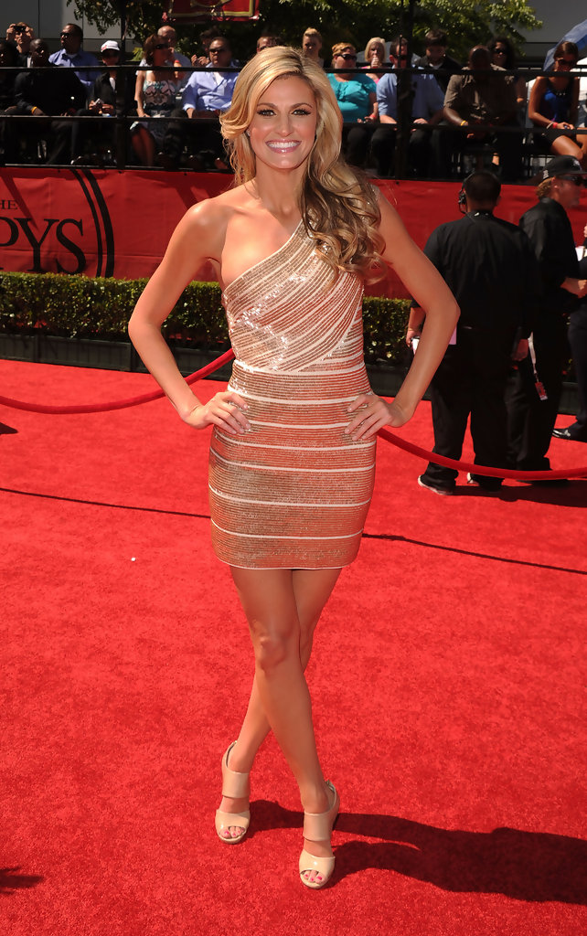 Erin Andrews Best And Worst Dressed At The 2010 Espy