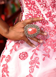 Tichina Arnold finished off her charming pink-themed ensemble at the ESPY Awards with a huge statement ring.