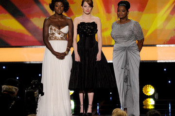 Emma Stone Viola Davis 18th Annual Screen Actors Guild Awards - Show