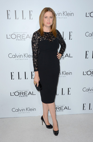 More Pics of Jenna Fischer Little Black Dress (1 of 7) - Jenna Fischer Lookbook - StyleBistro