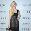 Elle Fanning in Calvin Klein and Dolce & Gabbana