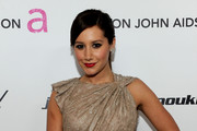 Ashley Tisdale Dazzles in Jenny Packham at Elton John's Oscar Party