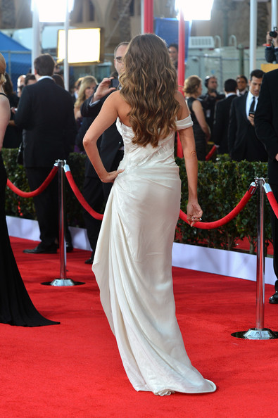 More Pics of Sofia Vergara Evening Dress (5 of 18) - Sofia Vergara Lookbook - StyleBistro
