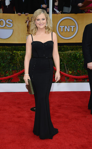 More Pics of Amy Poehler Evening Dress (1 of 15) - Amy Poehler Lookbook - StyleBistro