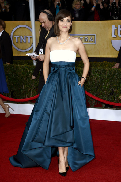 Marion Cotillard Wore Christian Dior at the 2013 SAG Awards