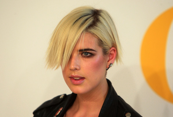 More Pics of Agyness Deyn Short Scene Cut (1 of 5) - Agyness Deyn Lookbook - StyleBistro