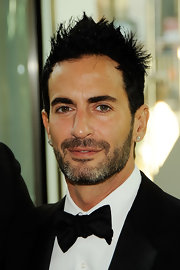 Marc Jacobs gave his hair some lift with added gel.