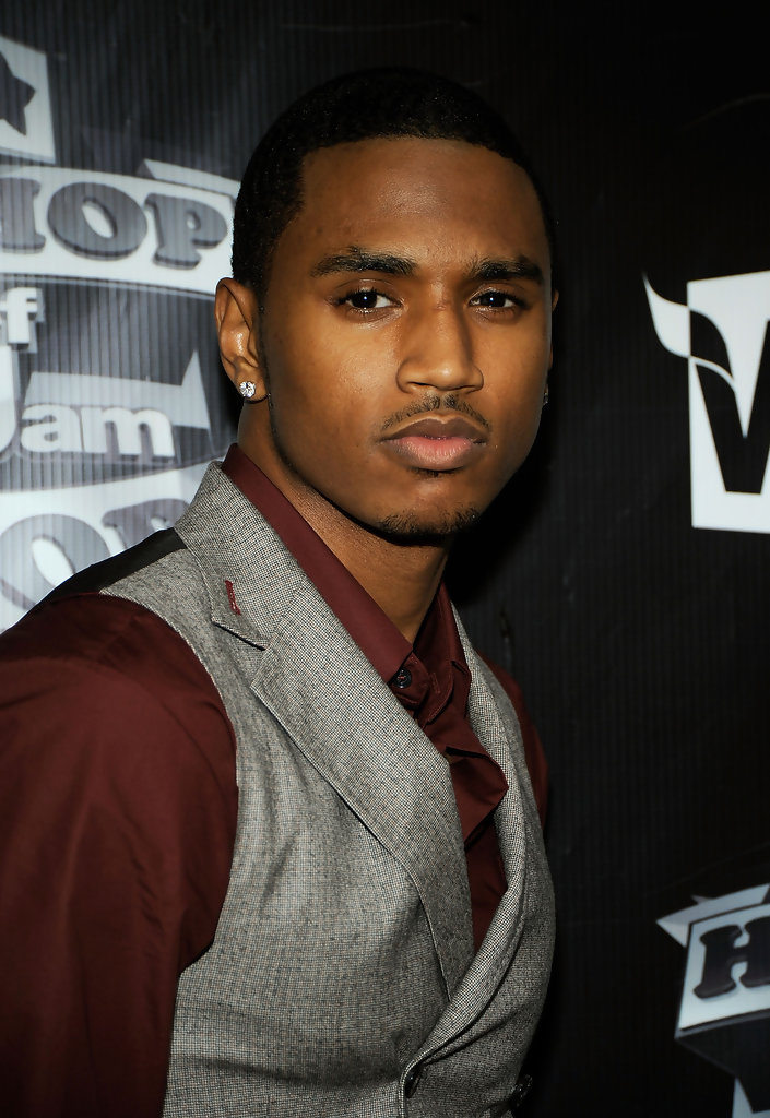More Pics Of Trey Songz Lettering Tattoo 2 Of 4 Trey