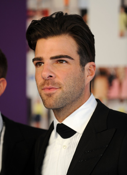 More Pics of Zachary Quinto Short Straight Cut (1 of 4) - Zachary Quinto Lookbook - StyleBistro [hair,face,suit,forehead,facial hair,eyebrow,hairstyle,chin,formal wear,beard,arrivals,zachary quinto,cfda fashion awards,alice tully hall,new york city,lincoln center]