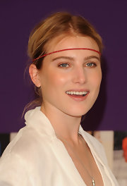Dree Hemingway showed off her headband while attending the CFDA Awards.