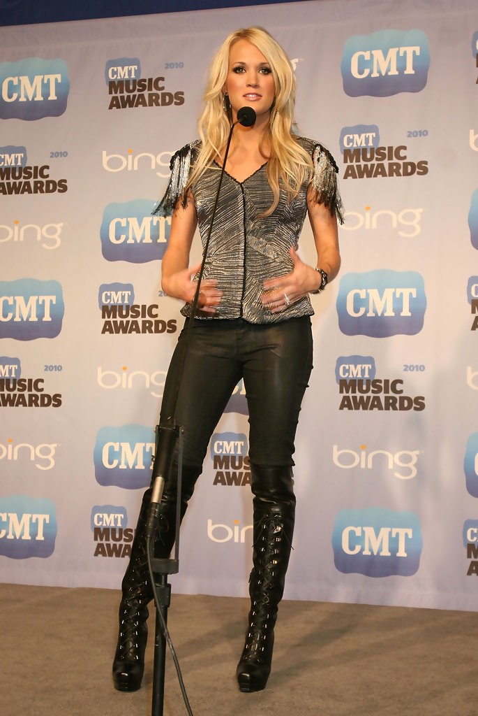 More Pics of Carrie Underwood Knee High Boots (2 of 6 ...