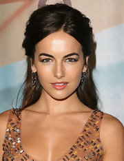 Camilla added a little flair to her look with cateye eyeliner. Her winged out look was perfect for the occasion.