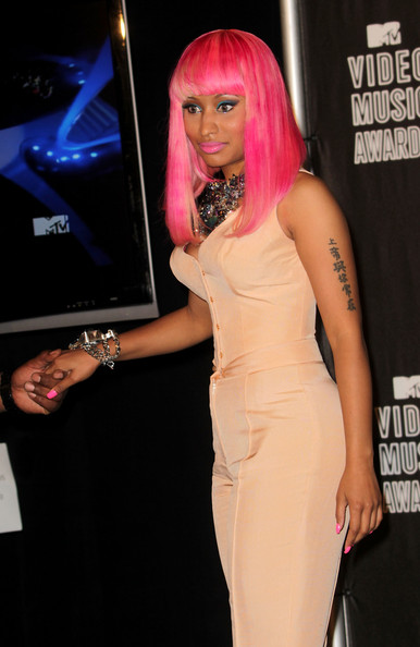 More Pics of Nicki Minaj Pink Nail Polish (2 of 7) - Nicki Minaj Lookbook - StyleBistro
