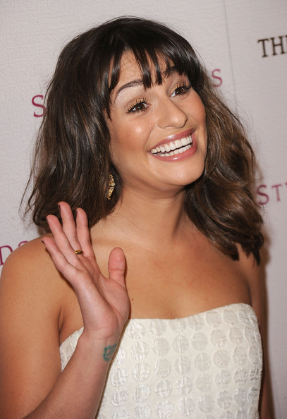More Pics of Lea Michele Artistic Design Tattoo (2 of 50) - Lea Michele Lookbook - StyleBistro