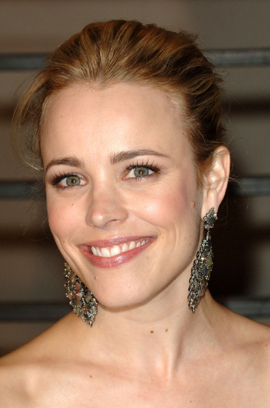 More Pics of Rachel McAdams Classic Bun (1 of 9) - Rachel McAdams Lookbook - StyleBistro