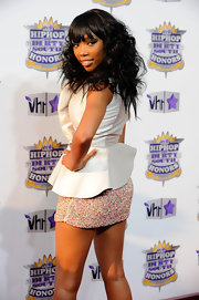 Brandy showed off her long curls while hitting the Hip Hop Honors Awards.