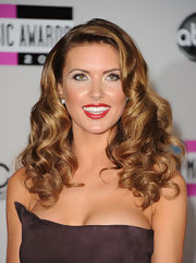 Audrina Patridge wore her long locks in a lovely mass of curls at the 2011 American Music Awards.