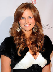 Princess Madeleine opted for luscious soft curls as she attended the 2011 Angel Ball.