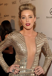 Amber Heard stood out at the 2011 Art of Elysium Heaven Gala wearing an 18-karat yellow gold and rock crystal Power ring.