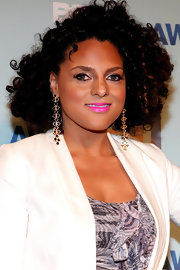 Marsha Ambrosius attended the 2011 BET Awards nominees announcement wearing her hair in a short curly style.