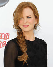 Nicole Kidman jumped on board the braided hair trend with a fishtail plait at the Billboard music Awards.