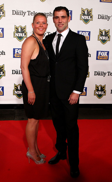 Cameron Smith looked dapper at the Dally M Awards in a perfectly tailored black suit.
