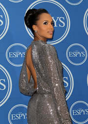 Kerry Washington sparkled at the ESPY Awards in a Jenny Packham gown that she paired with a classic high bun.