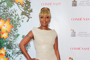 Musician Mary J. Blige attends the 2011 FiFi Awards at The Tent at Lincoln Center on May 25, 2011 in New York City.