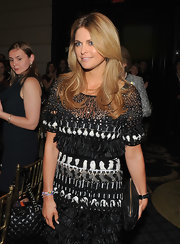 Princess Madeleine took a break from dainty pastels and went for a jet black clutch with gold hardware at the 2011 Health and Human Rights Awards.
