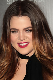 Khloe  Kardashian wore a matte fuchsia lipstick at the 2011 Hollywood Style Awards.