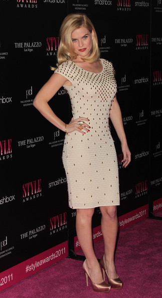 More Pics of Alice Eve Evening Pumps (1 of 2) - Alice Eve Lookbook - StyleBistro